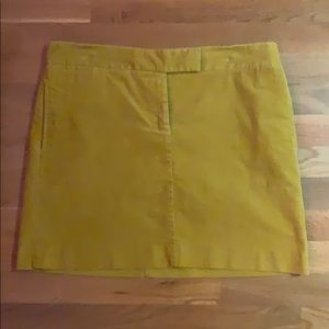 J Crew corduroy skirt